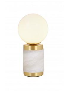 Lámpara de mesa Stones Glass