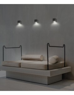 Aplique de pared con 1 luz Okra