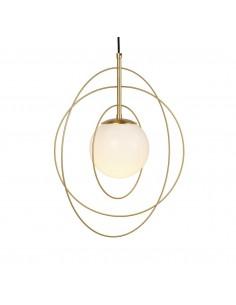 Lámpara colgante con aros Wire