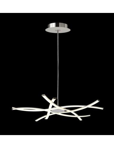 Lámpara colgante LED de aluminio...