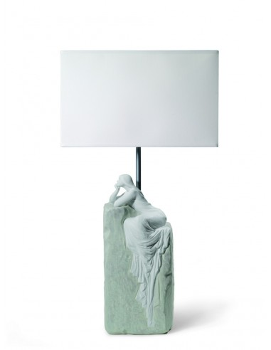 Lámpara de mesa de porcelana – Mujer...