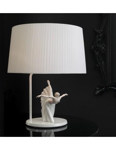 Lámpara de mesa de porcelana –...