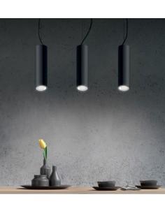 LED pendant light in white...