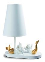 Lámpara de mesa de porcelana – Sirenas – Lladró
