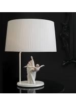 Lámpara de mesa de porcelana – Giselle arabesco – Lladró