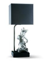 Lámpara de mesa de porcelana – Balinesa arrodillada – Lladró