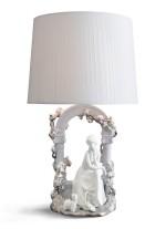 Lámpara de mesa de porcelana – Quietud – Lladró