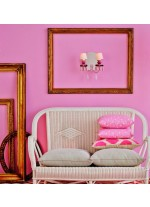 Aplique de pared de porcelana disponible en 7 acabados – Belle de Nuit – Lladró