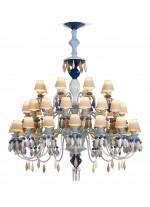 Belle de Nuit - Chandelier 40 luces  - Multicolor