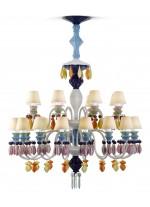 Belle de Nuit - Chandelier 24 luces  - Multicolor
