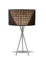 Lámpara de mesa con doble pantalla PVC y fibra de vidrio - Kenya - IDP Lampshades