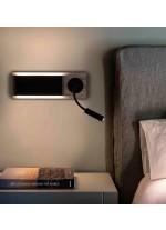 Aplique de pared con flexo LED con doble interruptor - Mood - Faro