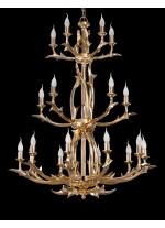 Bronze Chandelier 20 Lights