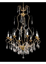 Bronze Chandelier 8 Lights