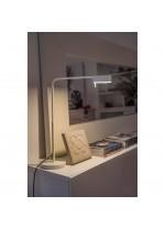 Lámpara de mesa de metal LED orientable 350º regulable en intensidad y en 3 acabados 3000K – Academy - Faro