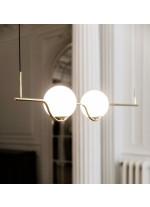 Lámpara colgante estructura acabado oro – Le Vita - Faro