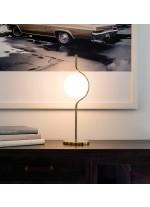 Sobremesa estructura oro con difusor de cristal – Le Vita – Faro