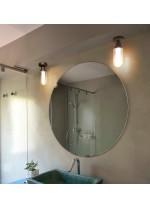 Plafón de techo de baño LED con pantalla de cristal - Brume - Faro