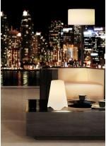 Lámpara decorativa de mesa con pantalla blanca – Niza – Dopo – Novolux Lighting