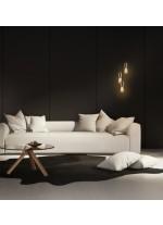 Lámpara colgante retro decorativa con bombilla – Aprilla – Exo – Novolux
