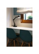Lámpara de mesa flexible de metal en 3 acabados – Baobab – Faro