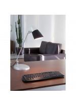Lámpara de mesa de aluminio y policarbonato – Leo – Faro