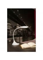 Lámpara de mesa minimalista de metal LED regulable en intensidad en 2 acabados 4000K – Otto – Faro