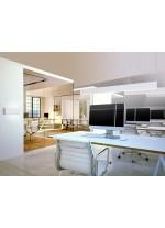 Aplique de pared LED blanco mate 3000K - Petaca - Mantra