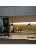 Lámpara de techo de metal industrial en 4 colores - Side - Faro