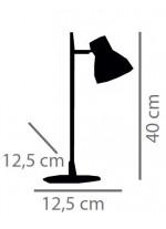 Lámpara de mesa de cerámica y madera en 2 colores – Wilma – IDP Lampshades