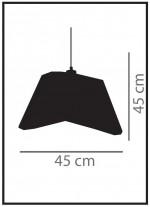 Lámpara colgante de metal – Ocean – IDP Lampshades