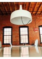 Lámpara colgante Ø 45 cm dos acabados y fuentes de luz LED 3000K / E27 – Aura – Luzfin