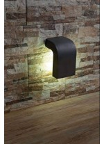 Lámpara aplique gris oscuro – Klamp – Faro