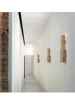 Aplique de pared de metal y madera LED en 2 acabados 3000K – Lamlamp – Plussmi