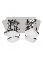 DES-Aplique de techo LED de metal para baño 3200K IP 44 - Maji - ACB Iluminación