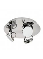 DES-Aplique de techo LED de metal para baño 3200K IP 44 - Sara - ACB Iluminación