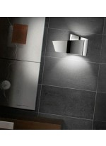 Aplique de pared de aluminio cromo - Ado - Pujol Iluminación