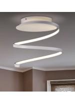 Aplique de techo LED de metal y metacrilato 3200K Ø 30 cm - Belenus - ACB Iluminación