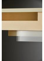Lámpara colgante LED regulable de madera natural – Skyline – Lzf