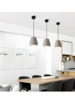 Lámpara colgante de cemento piedra Ø 18 cm - Herc - ACB Iluminación