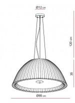 Lámpara Colgante - Eva - El Torrent