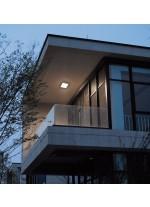 Aplique de pared y techo de exterior LED SMD 3000K - Blera Square - Dopo - Novolux