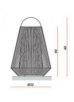Lámpara portatil - Koord - El Torrent