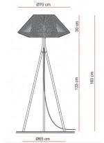 Lámpara de Pie - Koord - El Torrent