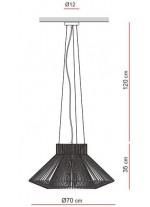 Lámpara Colgante - Koord - El Torrent