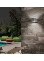 Aplique de pared exterior LED de aluminio y acrílico 3200K IP 54  - Lima - ACB Iluminación