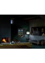 Lámpara de suspensión de madera natural en 11 colores - Icon - LZF