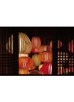 Lámpara de techo de madera natural en 11 colores - Pod - LZF