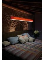 Lámpara de suspensión de madera natural en 11 colores regulable Bluethooth/Control Remoto - I Club - LZF