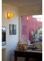Aplique de pared de madera natural en 11 colores regulable Led - Pleg - LZF